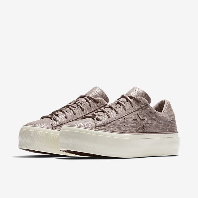 3a942378e126 Converse One Star Platform Precious Metal Suede Low Top Women s Shoe.  Nike.com. Find this Pin and ...