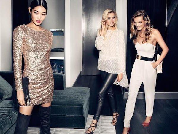 Da H&M è già festa con la nuova collezione di #abiti per #Natale2014