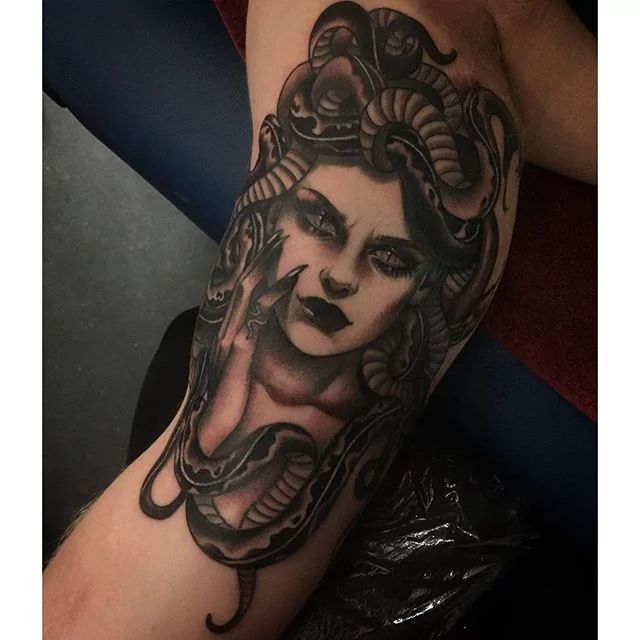 Tattoo art shows that Medusa is a popular icon of beauty and hideousness.  This is reflective of the wearer's ideas of beauty.
