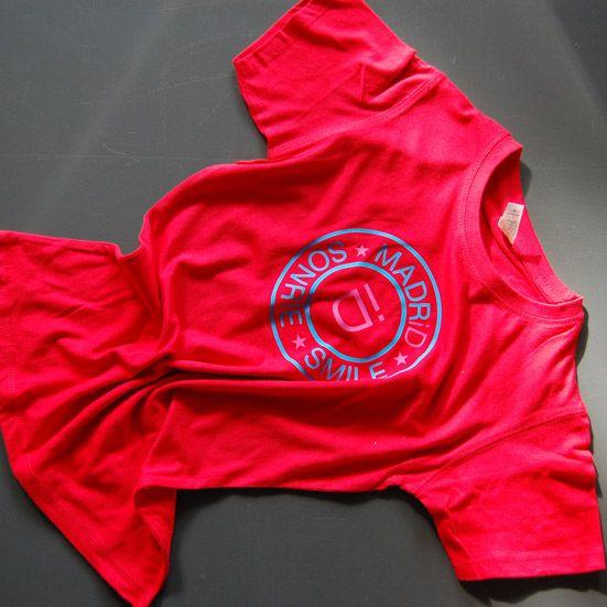 Tshirt escudo rojo