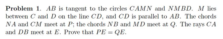 Looking for a challenge? Try this question from the 41st International Math Olympiad.