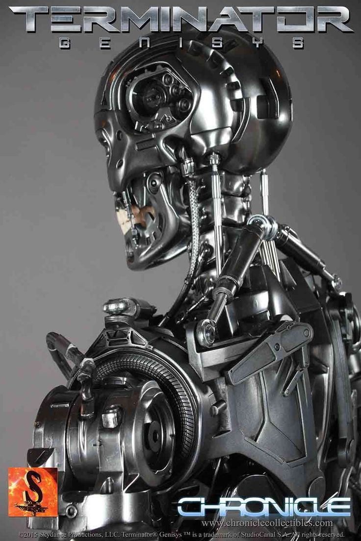 Terminator Genisys Full Size Endoskeleton Brings Judgment Day to Your Doorstep For $7000 -  #3d #robots #terminator