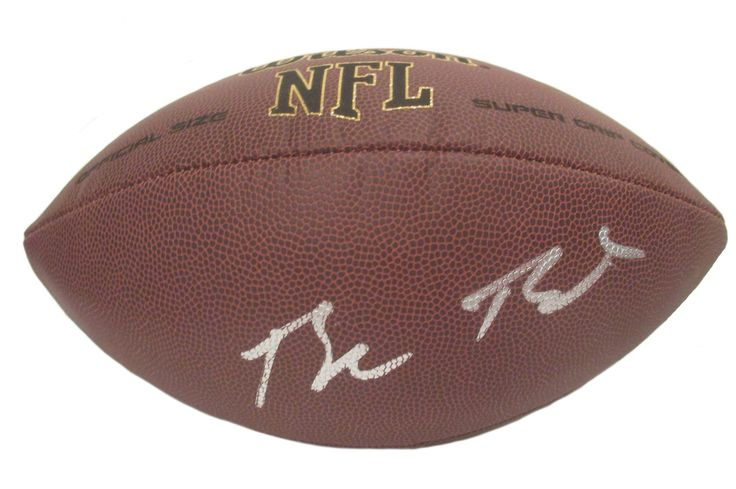 Blake Bortles Autographed NFL Wilson Composite Football, Proof. Blake Bortles SignedNFLFootball, Jacksonville Jaguars, UCF Knights, Proof  This is a brand-new Blake Bortlesautographed NFL Wilson composite football.Blakesigned the footballin silverpaint pen.Check out the photo of Blakesigning for us. ** Proof photo is included for free with purchase. Please click on images to enlarge. Please browse our websitefor additional NFL & NCAA footballautographed collectibles.2 Notable...