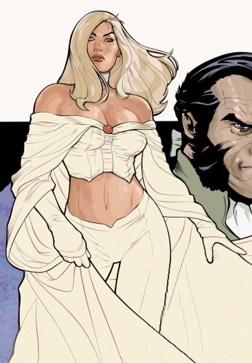 X-Men: Emma Frost (The White Queen) Telepathy & Diamond Form.