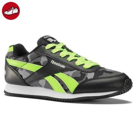 Reebok Unisex Baby Royal Cljog 2GR Sneakers, Schwarz / Grün / Grau / Weiß (Schwarz / Solar Green / Aschgrau / Shark / Wht), 27 1/2 EU (*Partner-Link)