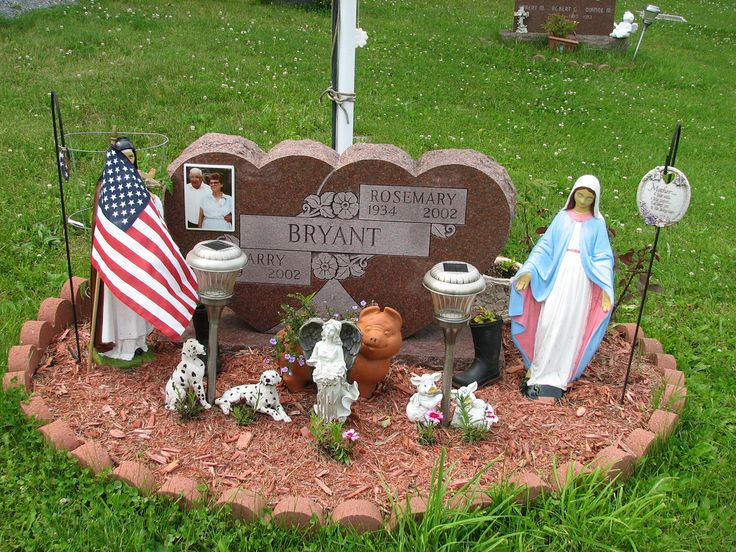Grave Decoration Ideas. Headstone Ideas ...
