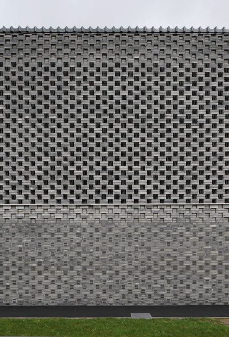 346 best images about perforated block screen wall on for Perforated brick wall