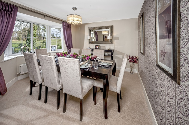 Dining Room At Worthing 5 Bed Show Home Homesmiths Interior Design Homes Pinterest And Interiors