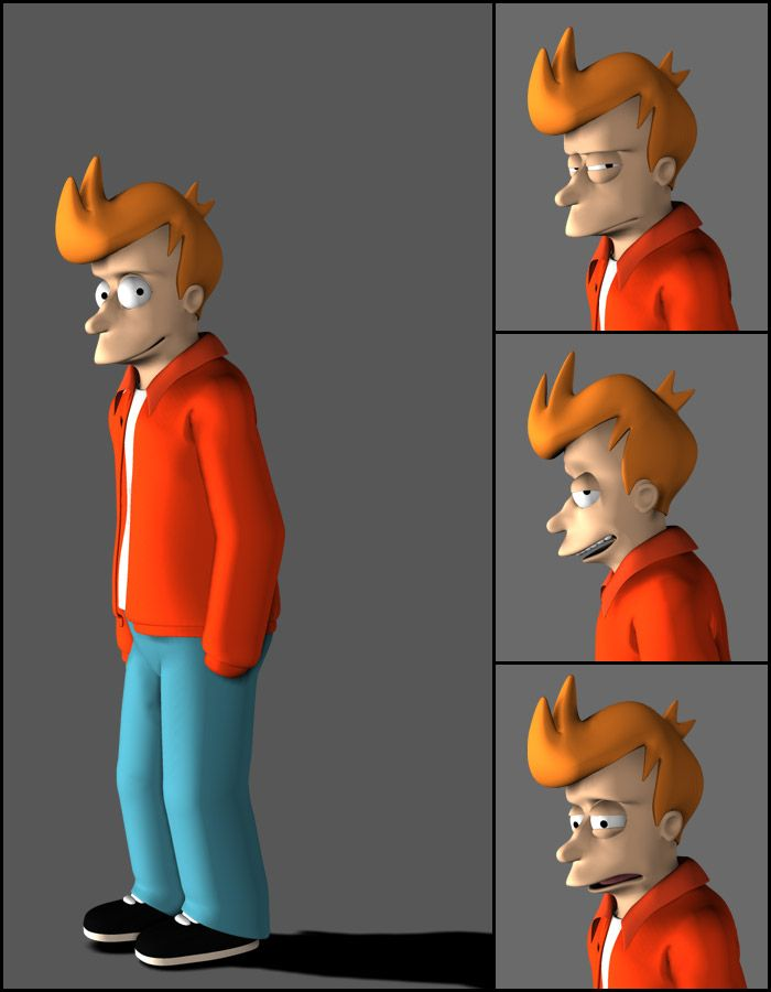 #Futurama #3D anyone? Why not Fry? by Anggell-X | futurama ...