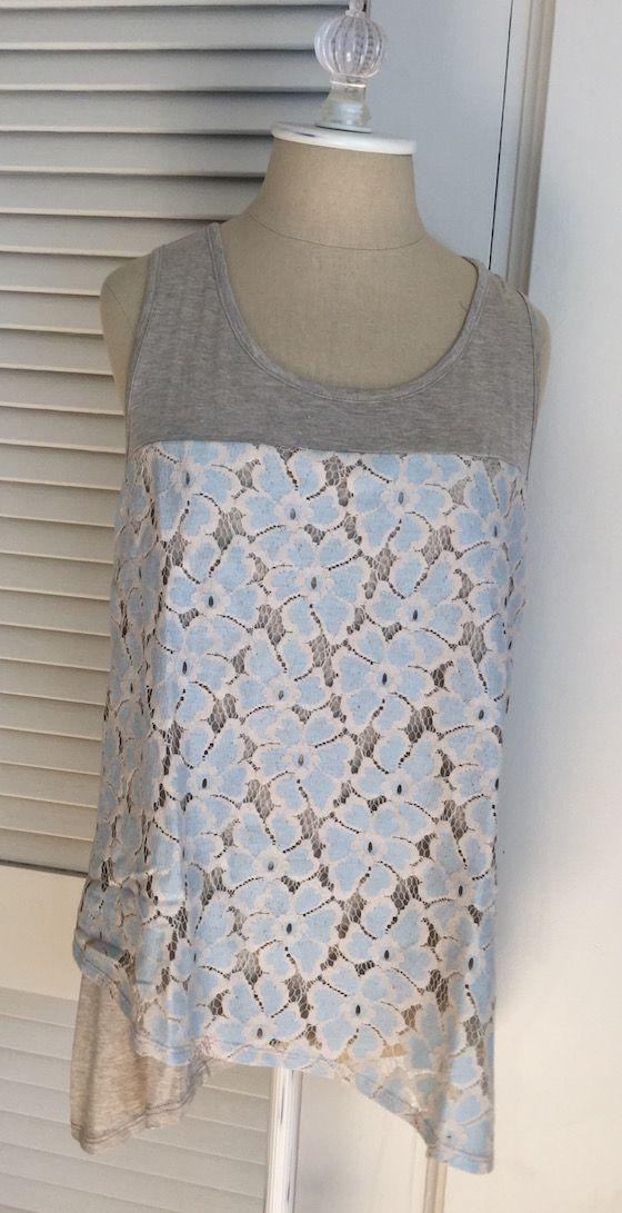 Stitch Fix Review – May 2015 | My Subscription Addiction Le LisLace detail tank
