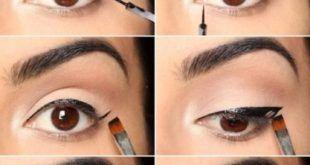 10 einfache Eyeliner-Tutorials für Anfänger -#anfanger #einfache #eyeliner #tu... - #anfanger #einfache