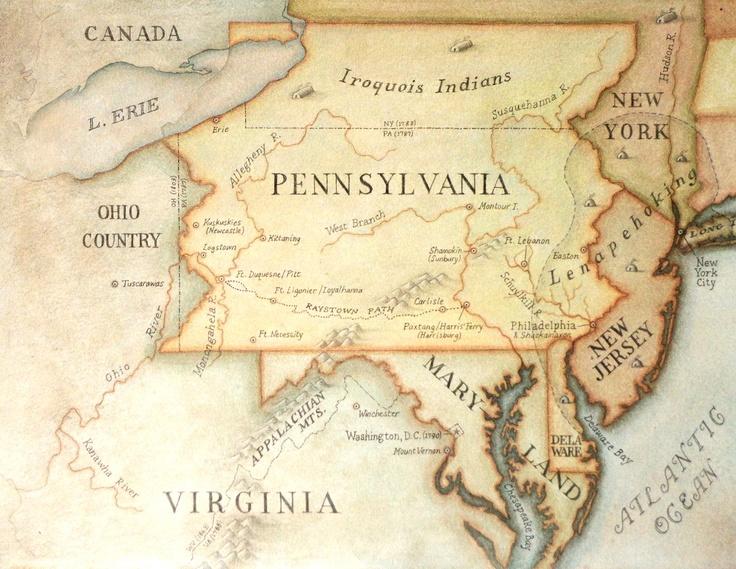 Western Pa Maps