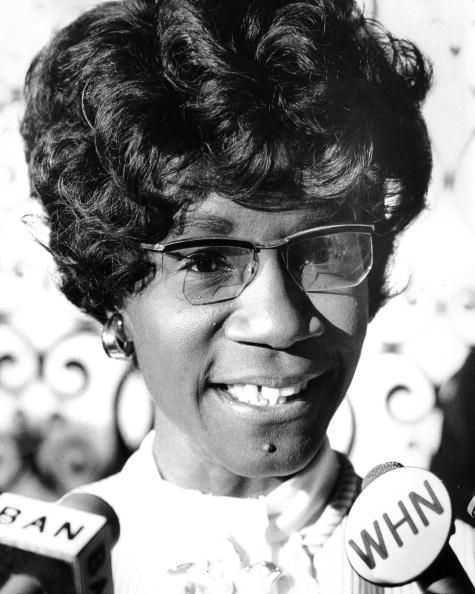 rep shirley chisholm as she speaks to her supporters after results of the primary