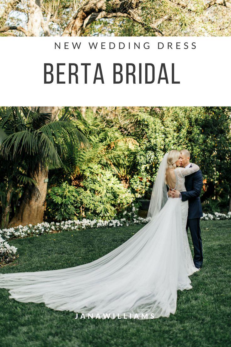 New Wedding Dress Bertabridal With Extra Long Train Venue Bel