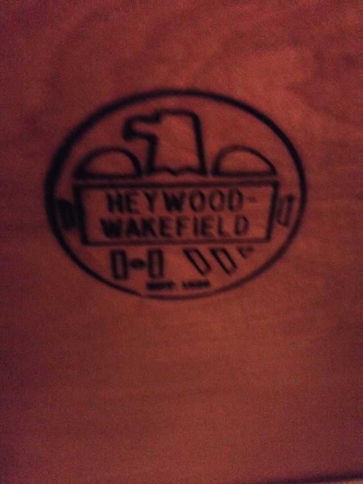 It is a picture of Ambitious Heywood Wakefield Furniture Labels