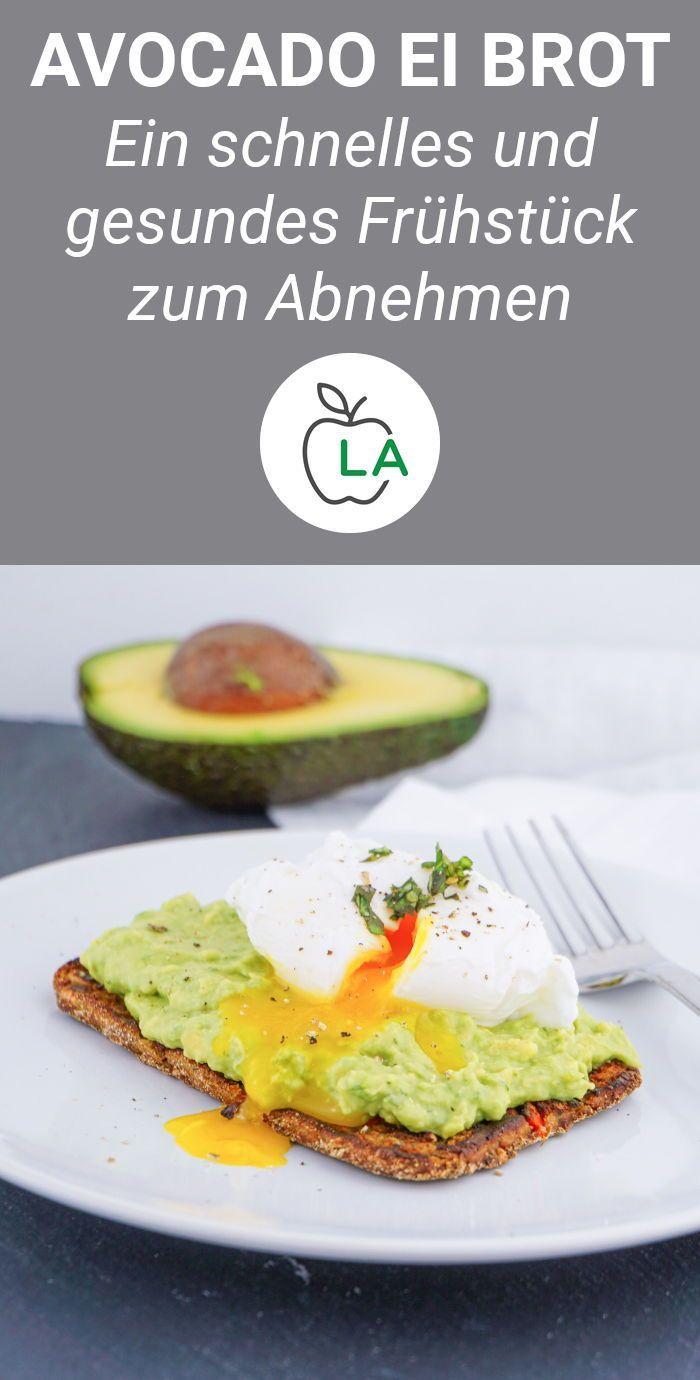 Avocado Ei Brot – Rezept für dein Low Carb Frühstück zum Abnehmen