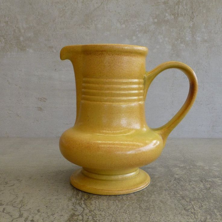 Vintage Diana Pottery Jug Made in Marrickville, NSW Australia 1960's.