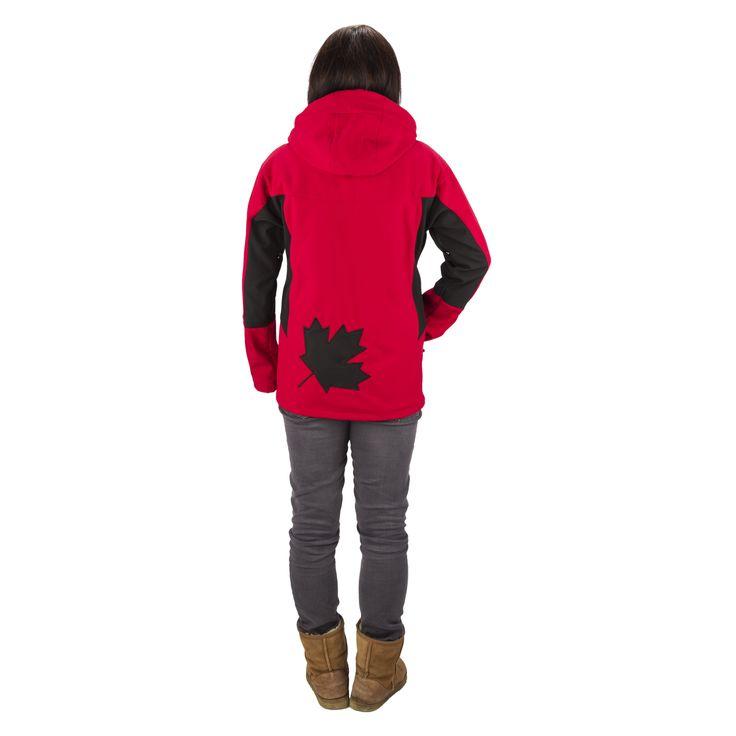 Mens Kalapattar Jacket - Red / Black - Women love it too !