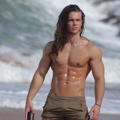 Long Hairstyle and Physique Style. Cameron McElroy (@tarzancam) | Instagram photos and videos