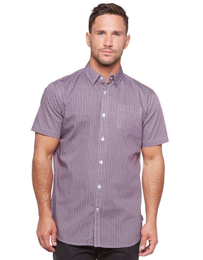 IFD Gabes Short Sleeve Shirt | Men's Shirts | Hallenstein Brothers