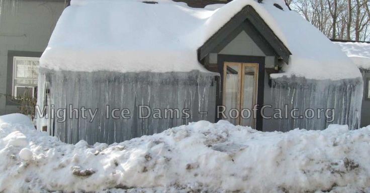 1000 Ideas About Ice Dams On Pinterest Insulation