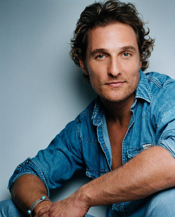 Matthew Mcconaughey-There's just something about his look...