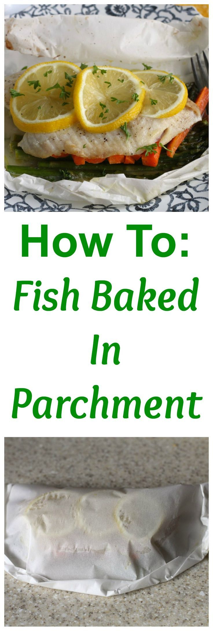 Ever baked fish in parchment paper? Its easy! Follow this step by step tutorial to take advantage of all the Spring ingredients in the market now!