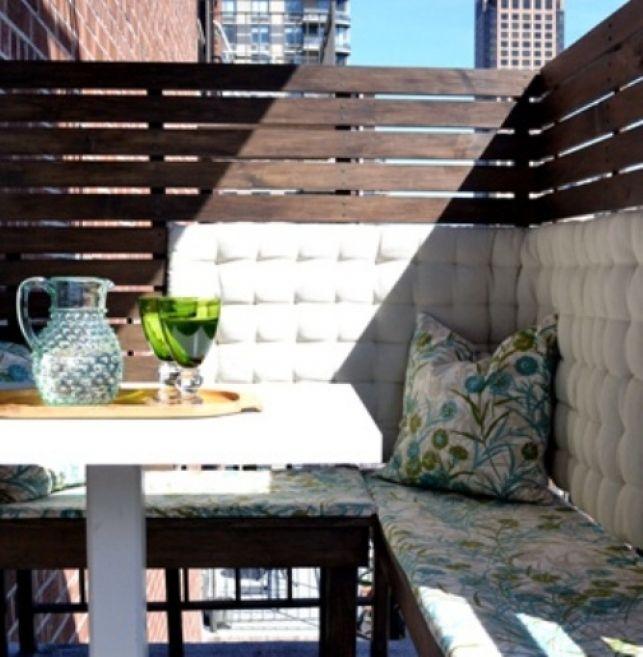 35 de idei pentru amenajarea unui balcon mic - imaginea 23