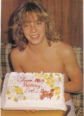 Leif Garrett turns 16