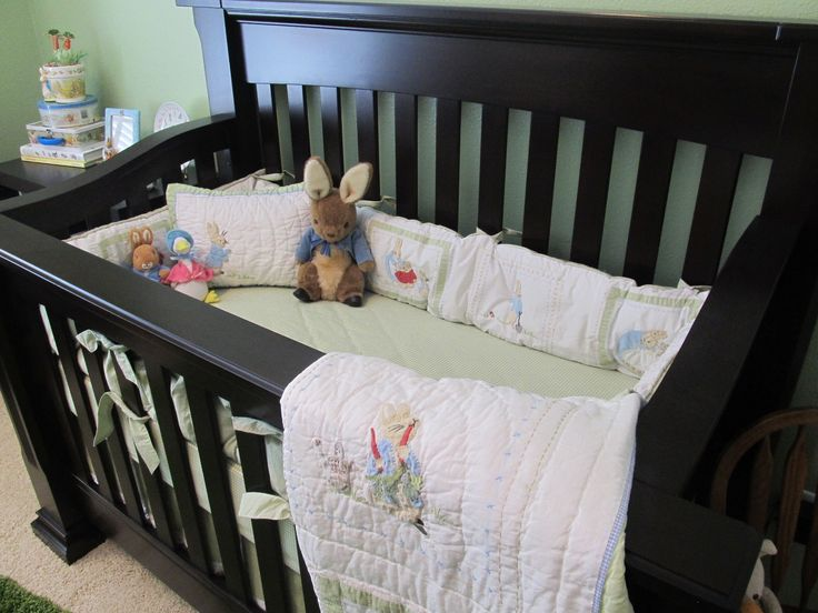 My Son S Peter Rabbit Themed Nursery Bedding From Pottery