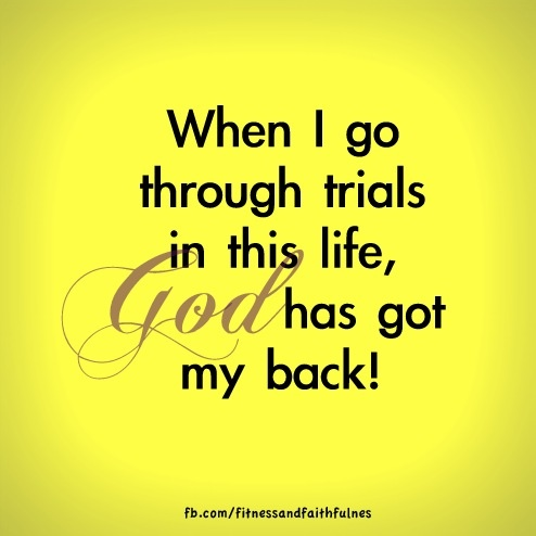 God Has Got My Back Thank You God Jesus Loves Me God