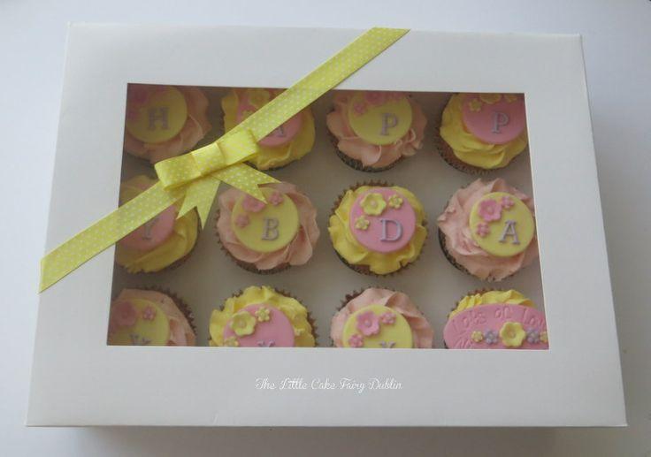Giftboxed Cupcakes  www.littlecakefairydublin.com www.facebook.com/littlecakefairydublin