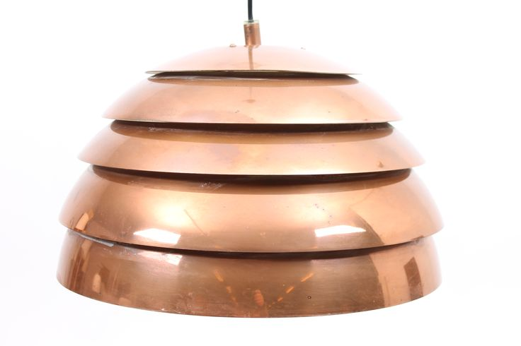 First edition, 1960,  DOME Pendant designed in copper by Hans Agne Jakobsson. Produced by AB Markaryd, Sweden.  www.reModern.dk