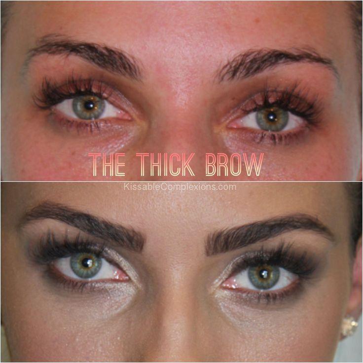 The benefit of having good brows! Loving my Anastasia brow kit from ulta