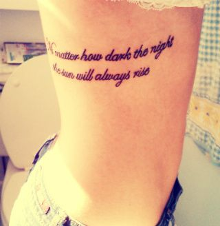 no matter how dark the night, the sun will always rise. Amen: Tattoo Ideas, Quotes Tattoo, Patterns Tattoo, Awesome Tattoo, Tattoo Patterns, A Tattoo, Tattoo Design, Tattoo Ink, Design Tattoo