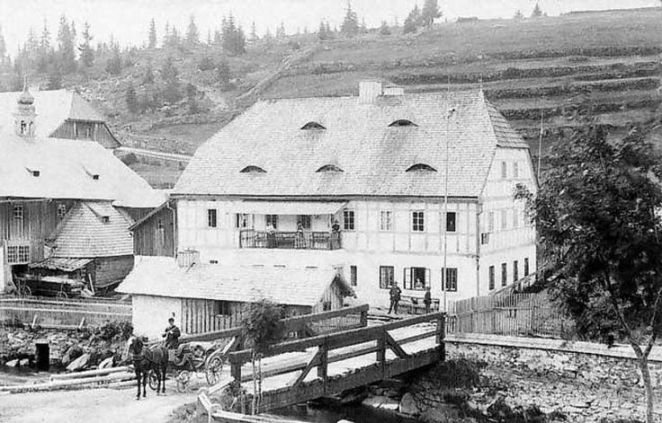 Bienertova pila - 1886 - Šumava