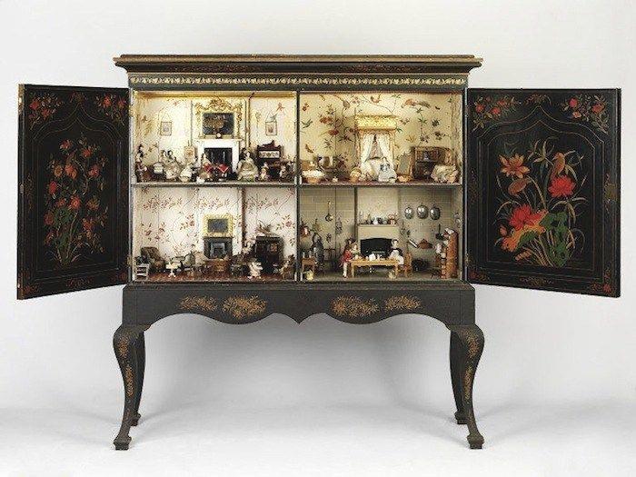 Dollhouse Decorating | Killer Cabinet Comes To Washington | http://dollhousedecoratingblog.com
