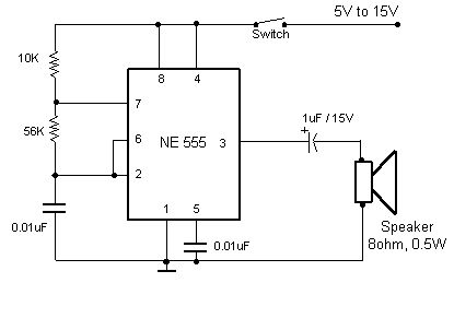 17 best ideas about simple electronic circuits a simple electronic buzzer