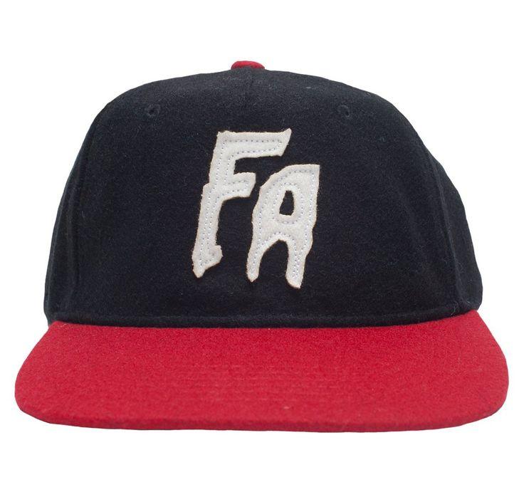 FA Logo Wool Black/White/Red