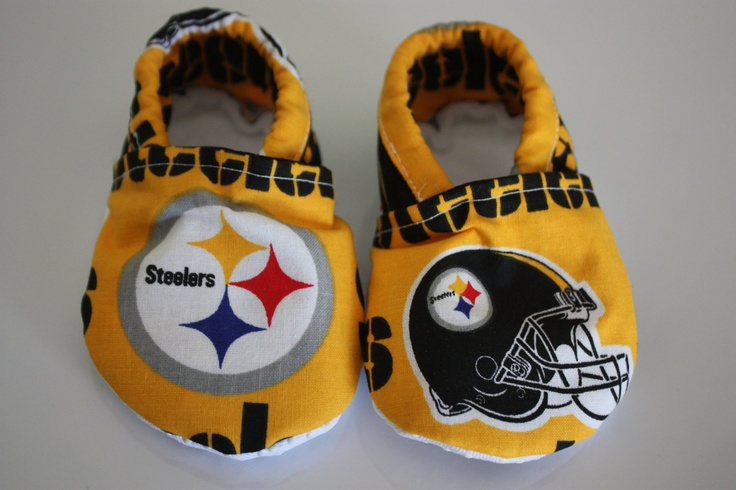pitsburgh steelers booties by JoeEllz on Etsy, $15.00