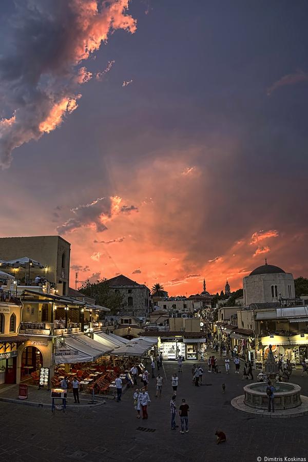 Hippocrates Square old town Rhodes Greece no 2 by Dimitris Koskinas, via 500px
