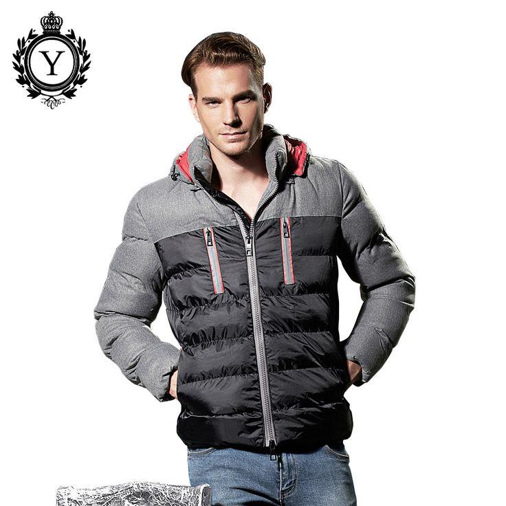 man winter jacket winter coat down black jacket windproof waterproof stylish nylon quilted winter hooded down coat parkas men