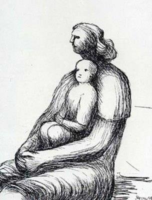 Henry Moore (British: 1898–1986)