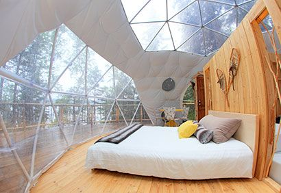 Dormir au #Québec: 10 endroits à découvrir #vacances