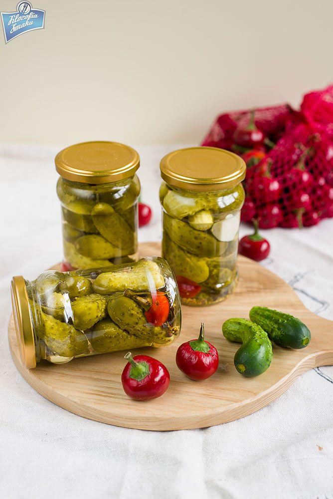 Korniszony z chili