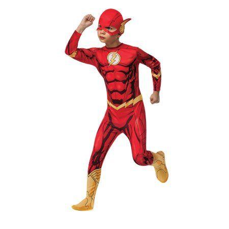 Flash Boys Child Halloween Costume, Red
