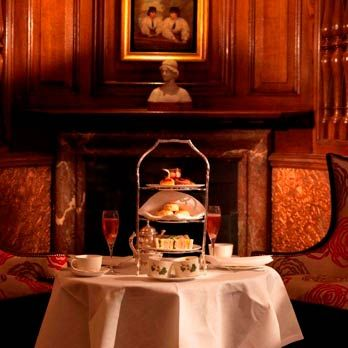 The English Tea Room at Rocco Forte's Brown's Hotel serves one of the most famous afternoon teas in London.