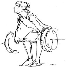 Resultado de imagem para weightlifting drawing