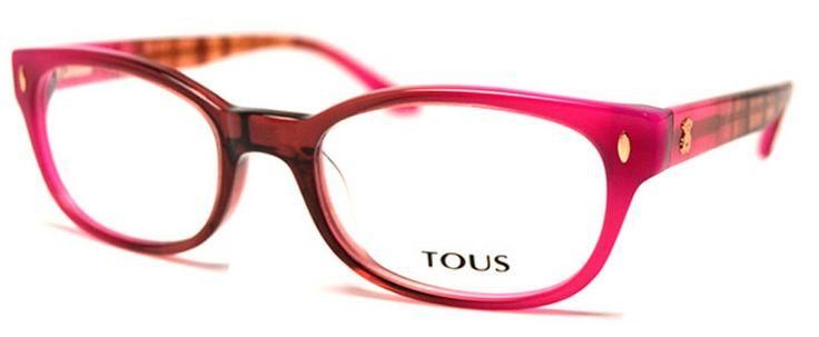 Gafa de vista. Tous STO772 0ABT #Moda #Calpe #Mujer #Gafa #Tous #OpticaIfach