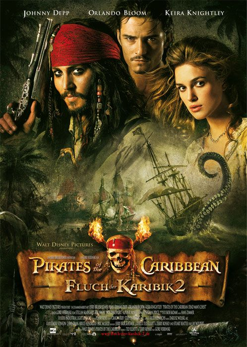 Poster zum Film: Pirates of the Caribbean - Fluch der Karibik 2